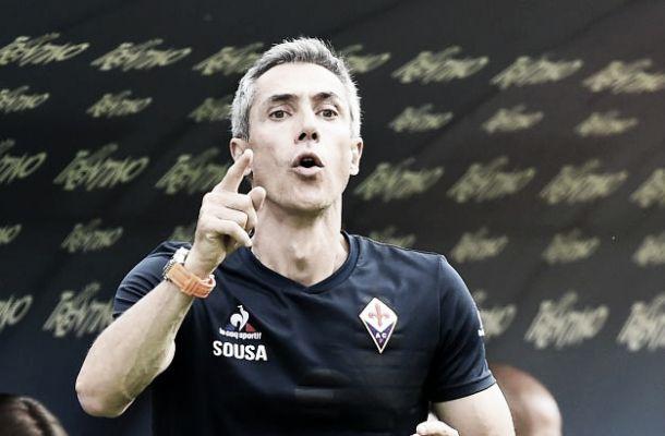 """Fiorentina, esordio vincente di Sousa: """"Prestazione perfetta"""""""