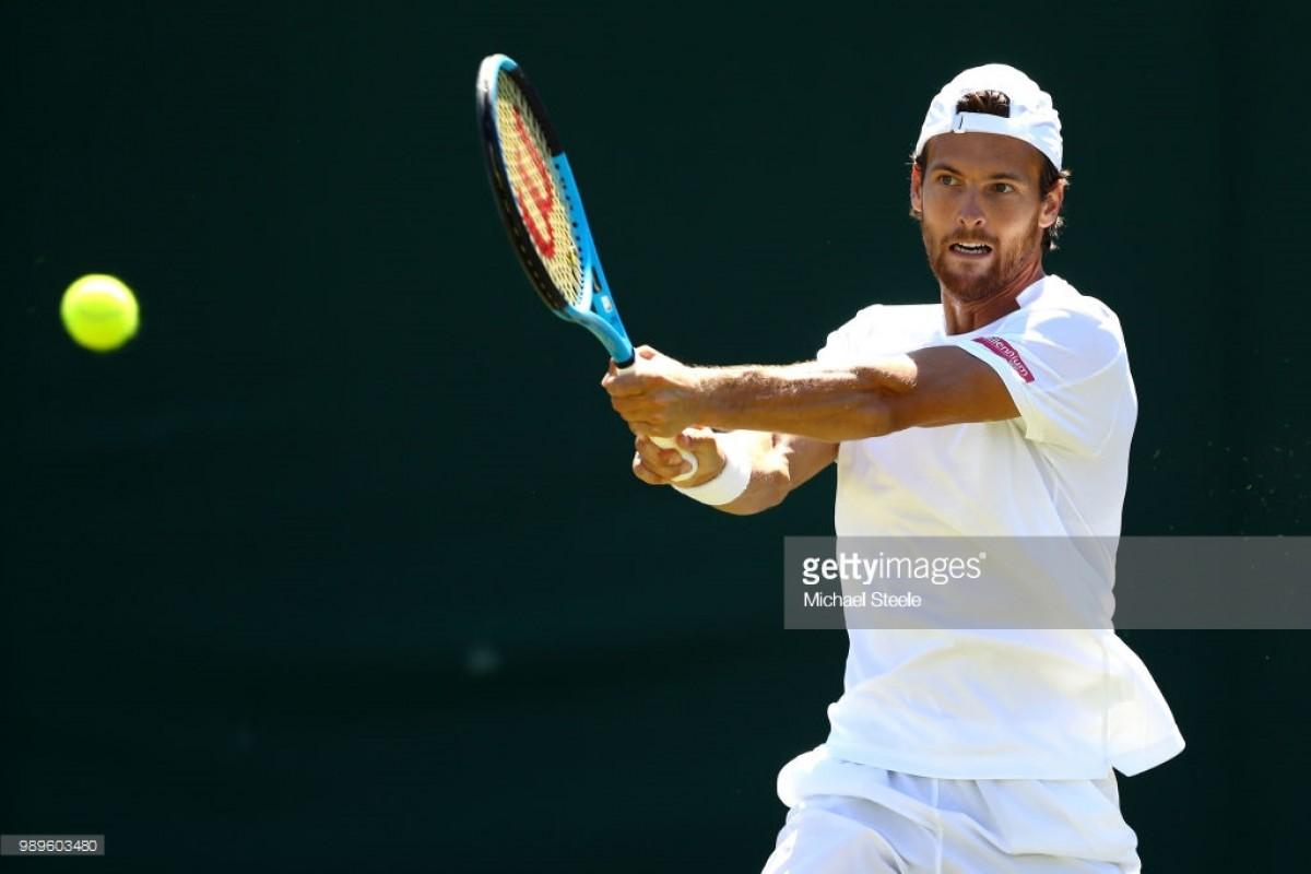 João Sousa e Gastão Elias ficam pela primeira ronda em Wimbledon