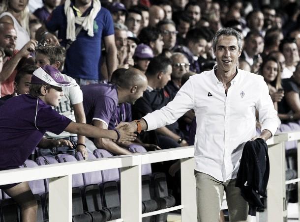 """Fiorentina seconda, Sousa sorride: """"Fiducia e passione per il nostro lavoro. Lavoriamo sui limiti"""""""