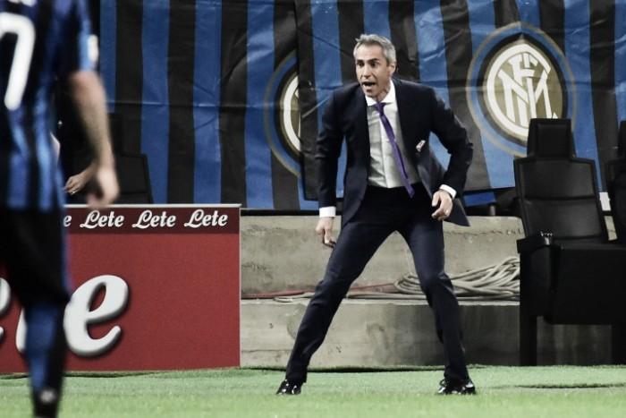 """Fiorentina, Sousa: """"Chievo squadra solida. Dobbiamo crearci una mentalità"""""""