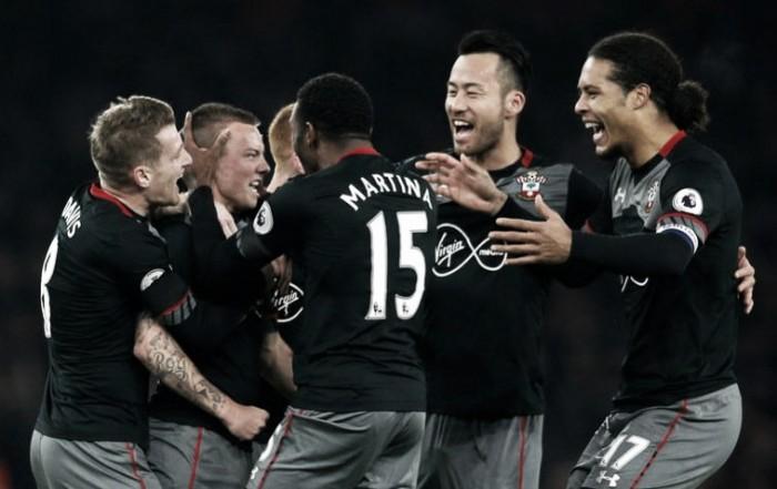 EFL Cup - L'Arsenal-bis cade in casa: Southampton in semifinale (0-2)