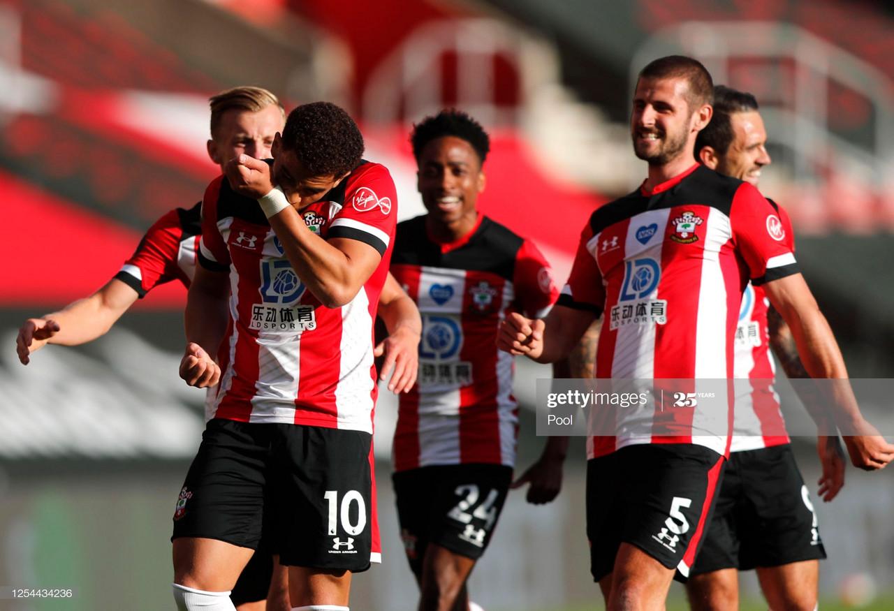 Southampton 1 0 Manchester City Stubborn Saints Inflict A Third Consecutive Away Defeat For City Vavel International