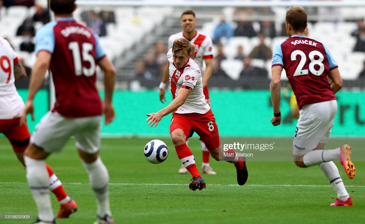 Predicted line-ups: Southampton FC vs West Ham United