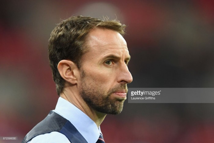 Gareth Southgate encouraged by England debutants Loftus-Cheek and Pickford after Germany draw
