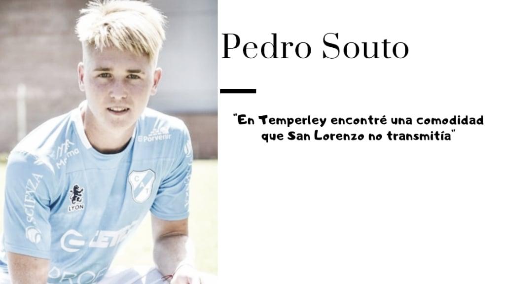 """Entrevista. Pedro Souto:""""Me sigo preparando para la posibilidad de cuando me llegue la chance de volver a entrenar con Primera"""""""