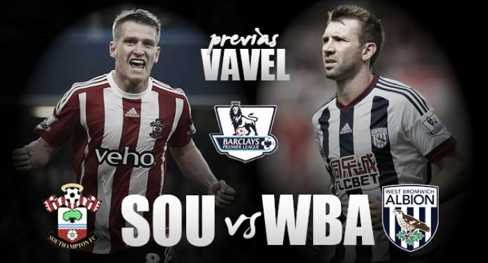 Southampton - West Bromwich Albion: a definir la temporada