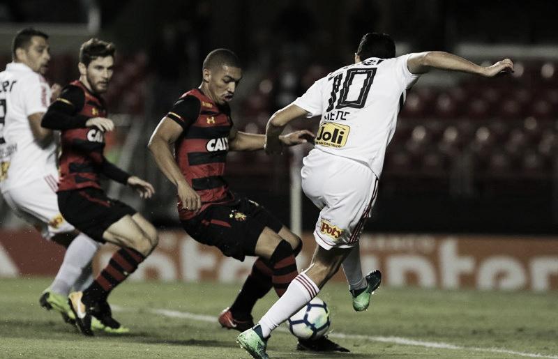 Nenê perde pênalti e São Paulo só empata com o Sport no Morumbi