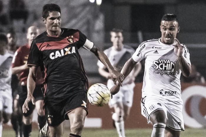 Resultado Sport x Ponte Preta no Campeonato Brasileiro 2016 (1-0)