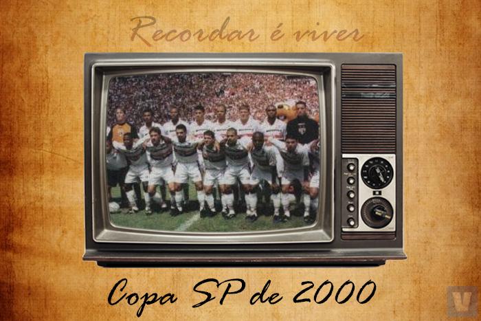 Em 2000, São Paulo vencia pela segunda vez a Copa São Paulo de Futebol Júnior