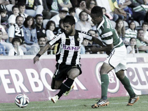 Nacional com qualidade arranca empate ao Sporting
