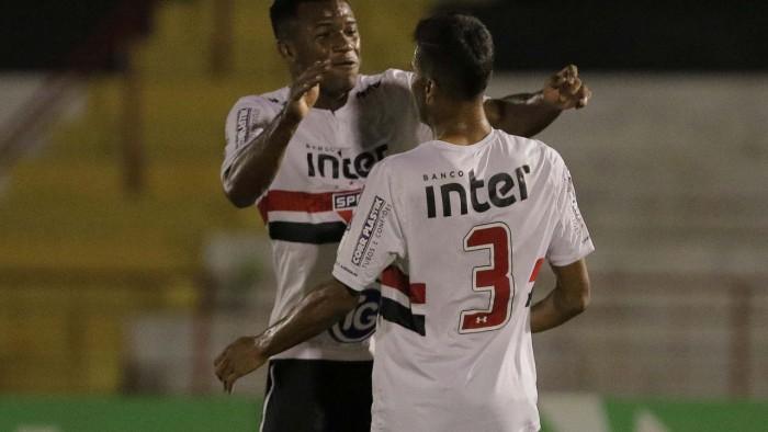 Resultado Botafogo-SP x São Paulo na Copa São Paulo de Futebol Júnior 2018 (0-4)