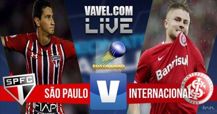 Resultado São Paulo x Internacional no Campeonato Brasileiro (1-2)