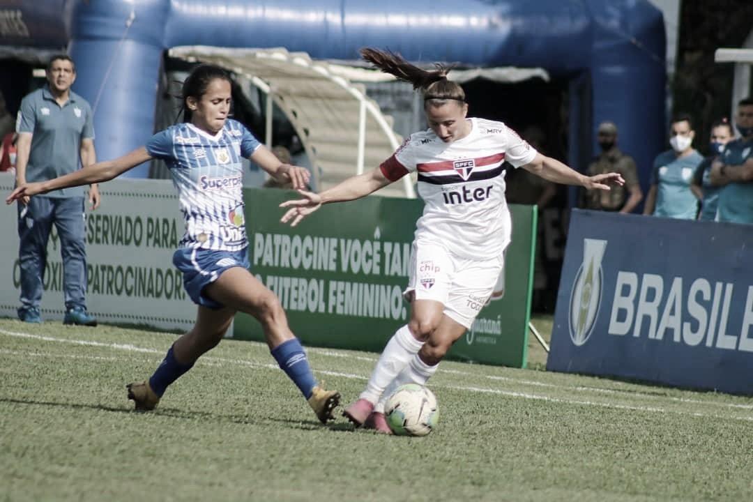 Em jogo equilibrado, São Paulo e Avaí/Kindermann empatam pelo Brasileirão Feminino