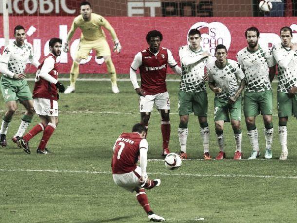 'Santo' triunfo de Sporting Braga ante Moreirense
