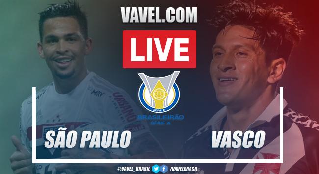 Gols e melhores momentos São Paulo 1 x 1 Vasco pelo Campeonato Brasileiro 2020