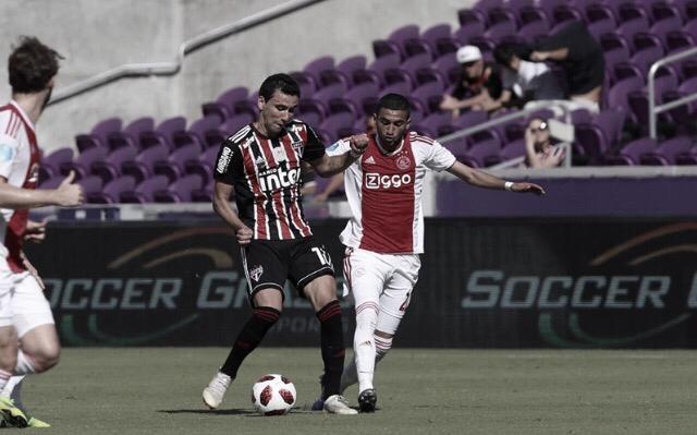 São Paulo é derrotado pelo Ajax no Torneio da Flórida