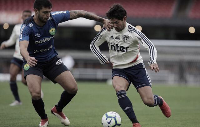 São Paulo derrota Cuiabá em jogo-treino no Morumbi