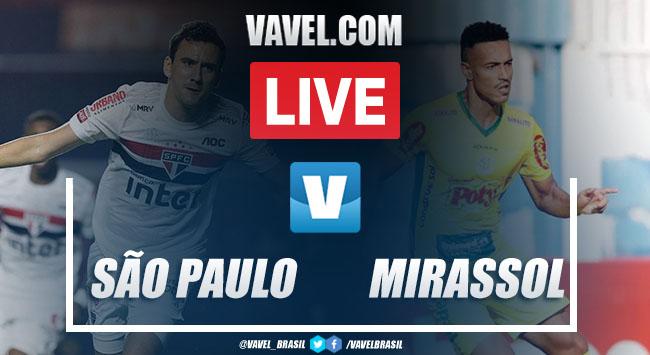 Gols e melhores momentos de São Paulo x Mirassol pelo Campeonato Paulista (2-3)