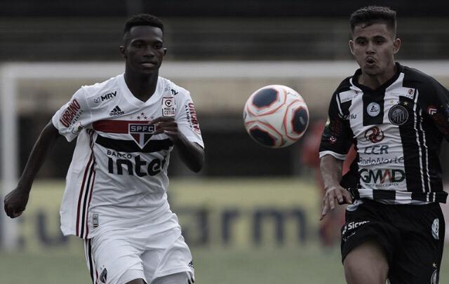 São Paulo e Operário-PR amargam empate sem gols na estreia da Copinha