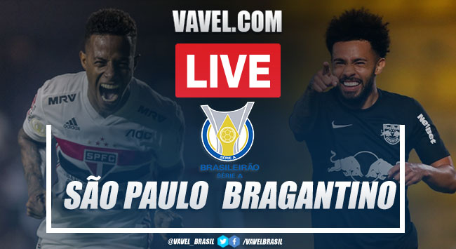 Gols e melhores momentos São Paulo x Red Bull Bragantino (1-1)