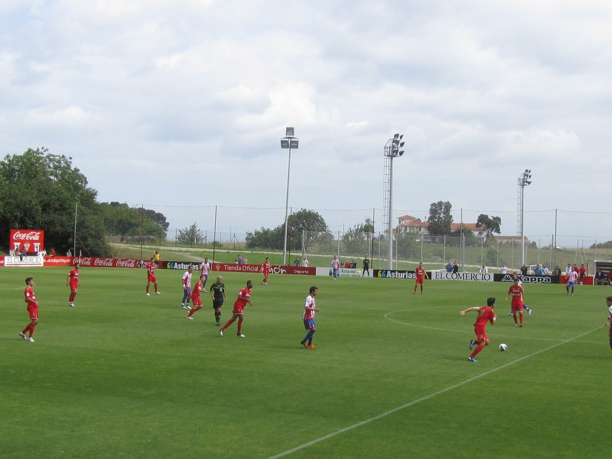 El Sporting gana 5-1 al filial en su primera prueba de la pretemporada