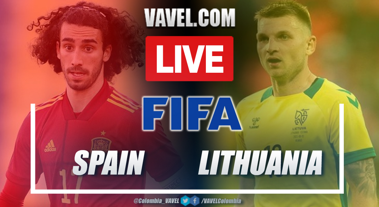 Goals and Highlights: Spain 4-0 Lithuania in Friendly Match 2021