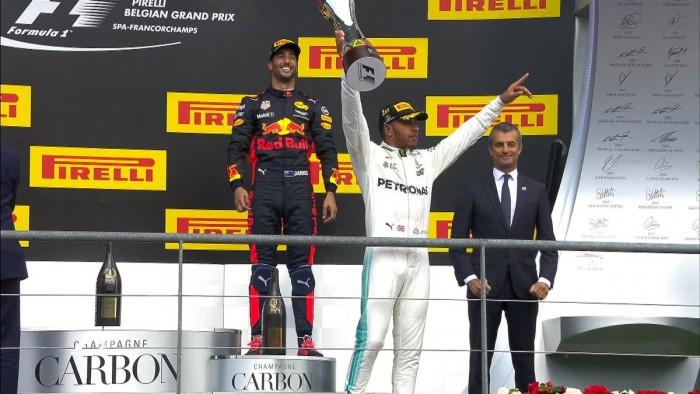 Formula 1, GP Belgio - Hamilton vince, ma che fatica! Ottimo Vettel secondo
