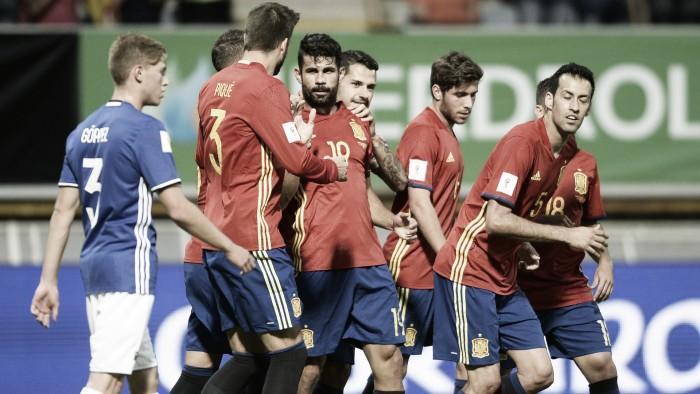 Qualificazioni Russia 2018 - La Spagna in gita sul campo del Liechtenstein