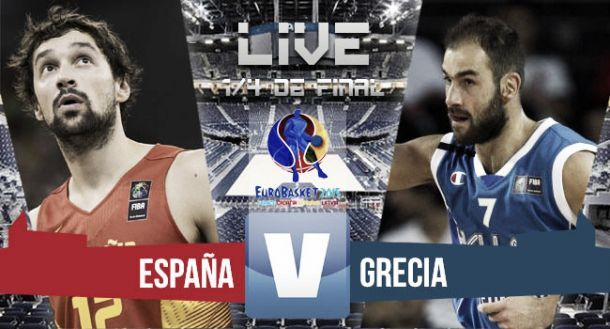 Risultato Spagna - Grecia, EuroBasket 2015 (73-71)