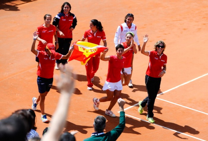 fed cup spain