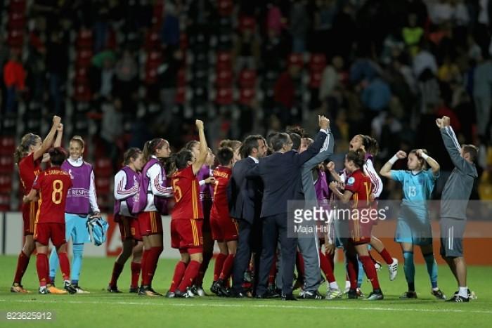 EURO 2017: Scotland 1-0 Spain - Spain book their quarter-final place despite losing