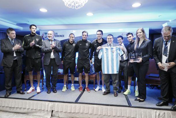La Spain Experience contó con el Málaga CF como embajador
