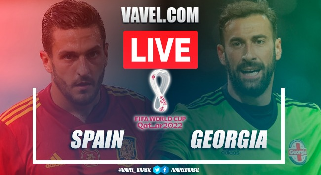 Goals and Highlights Spain vs Georgia (4-0)