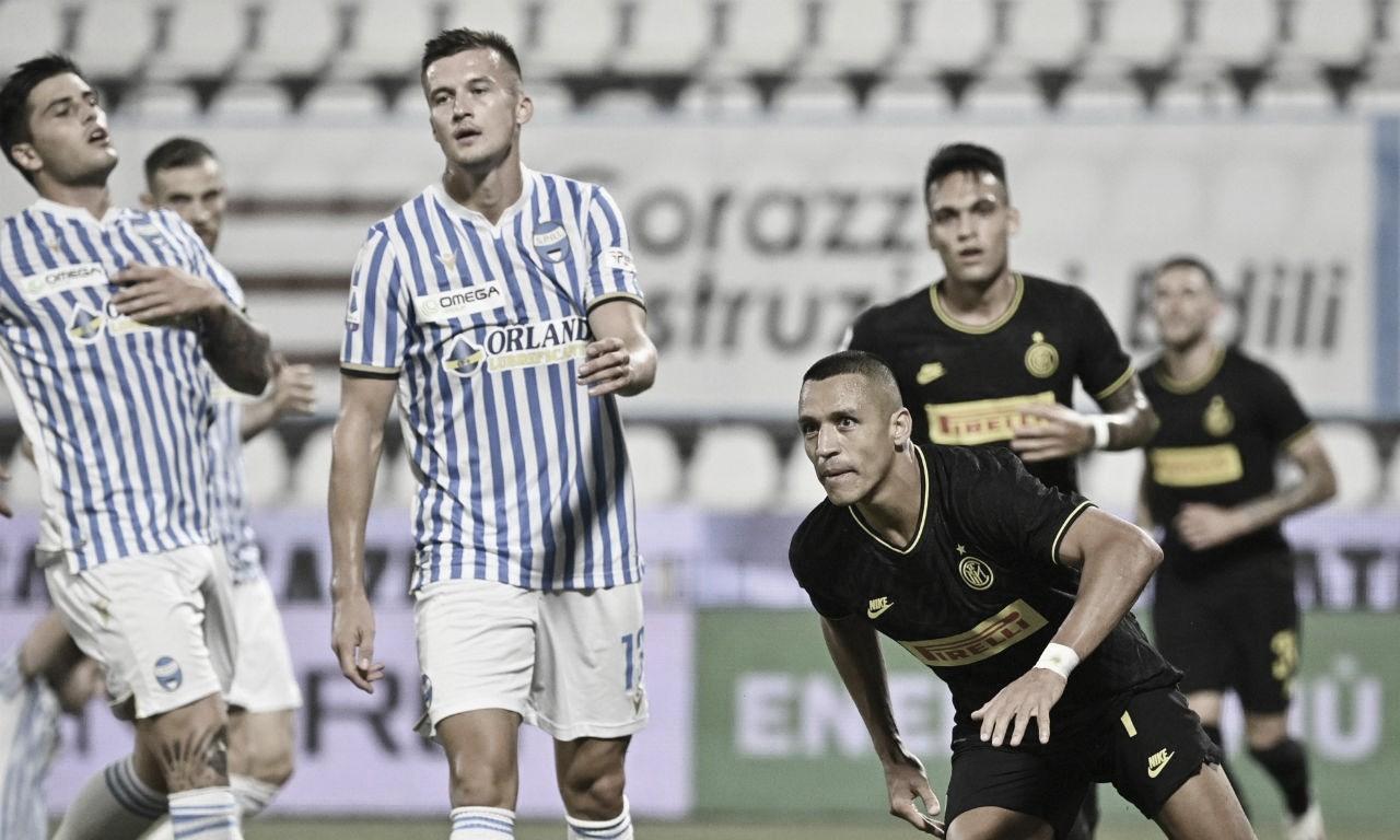 Internazionale goleia, afunda SPAL e assume vice-liderança da Serie A