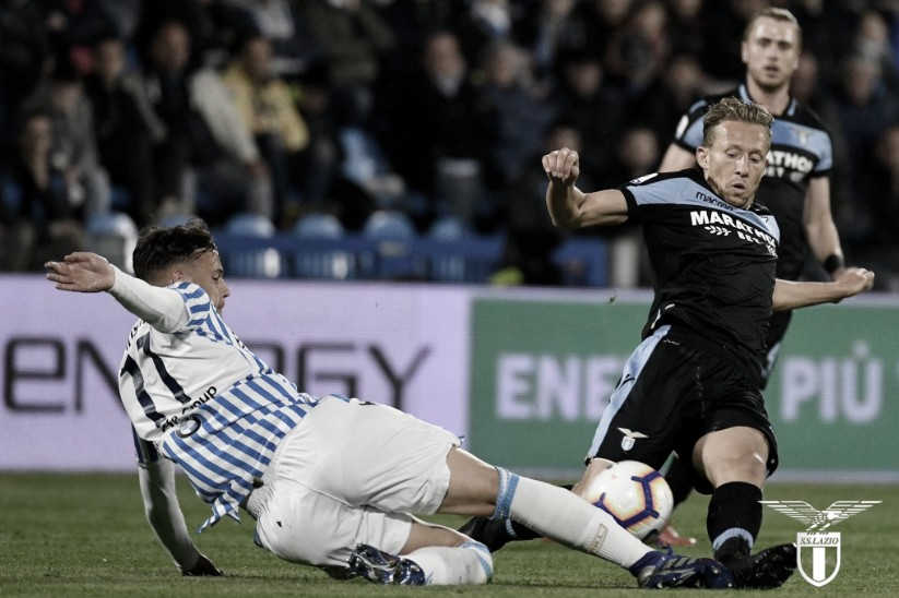 Jogando fora de casa, Lazio perde para Spal e se complica na briga pela Champions