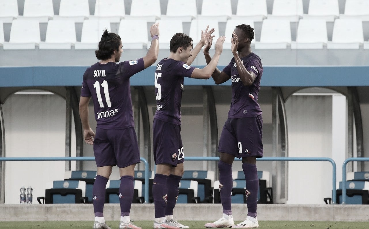 Fiorentina marca dois na reta final e bate lanterna SPAL na rodada final da Serie A