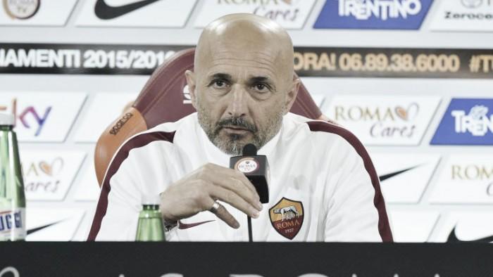 """Roma, Spalletti: """"Pescara insidioso, l'Europa League ci ha tolto tante energie mentali"""""""