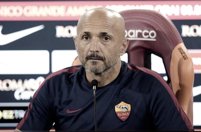 """Roma, Spalletti in conferenza: """"A Udine senza Perotti. A febbraio sarà dura ma daremo tutto"""""""