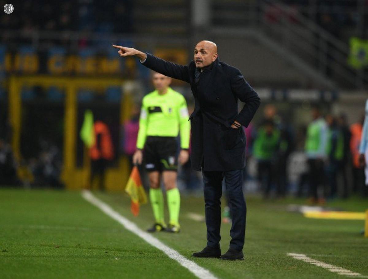 """Inter - Spalletti: """"Siamo in crescita, l'obiettivo massimo resta la qualificazione in Champions"""""""