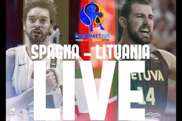 Risultato Spagna - Lituania, Finale EuroBasket 2015 (80-63): Spagna campione d'Europa! Gasol Mvp!