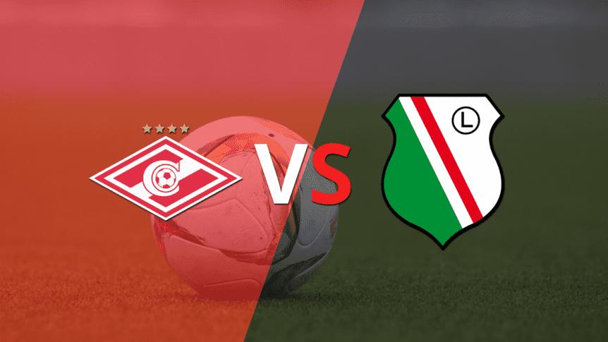 Resumen y mejores momentos del Spartak Moscow 0-1 Legia Warszawa