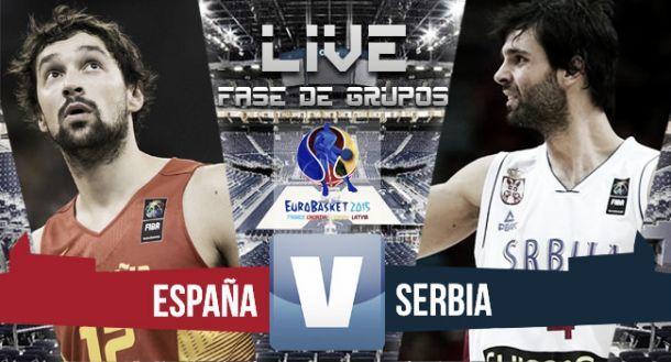 Live Spagna - Serbia basket, risultato partita EuroBasket 2015  (70-80)