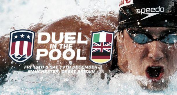 Europa y Estados Unidos de natación se enfrentarán en Escocia