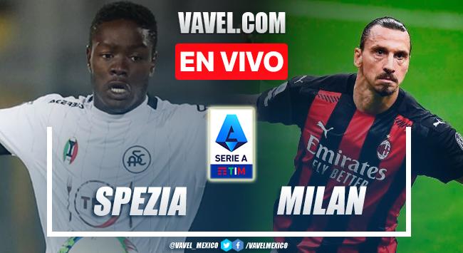 Goles y resumen del Spezia 1-2 AC Milán en Serie A 2021
