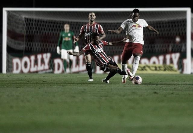 Pablo marca dois, mas São Paulo leva virada do RB Bragantino no Morumbi