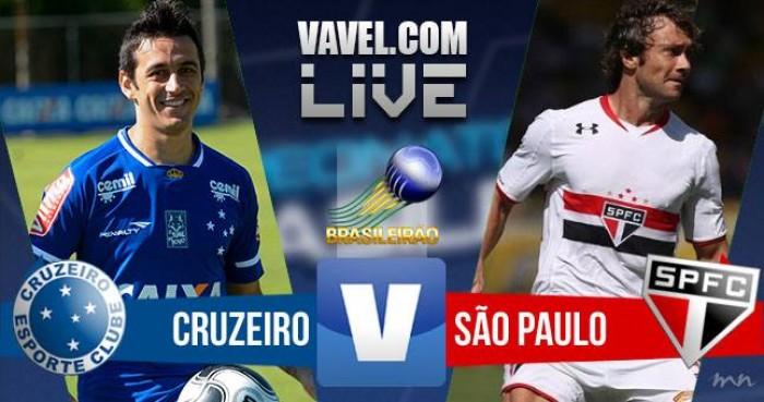 Resultado: Cruzeiro x São Paulo, pelo Campeonato Brasileiro 2016 (0-1)