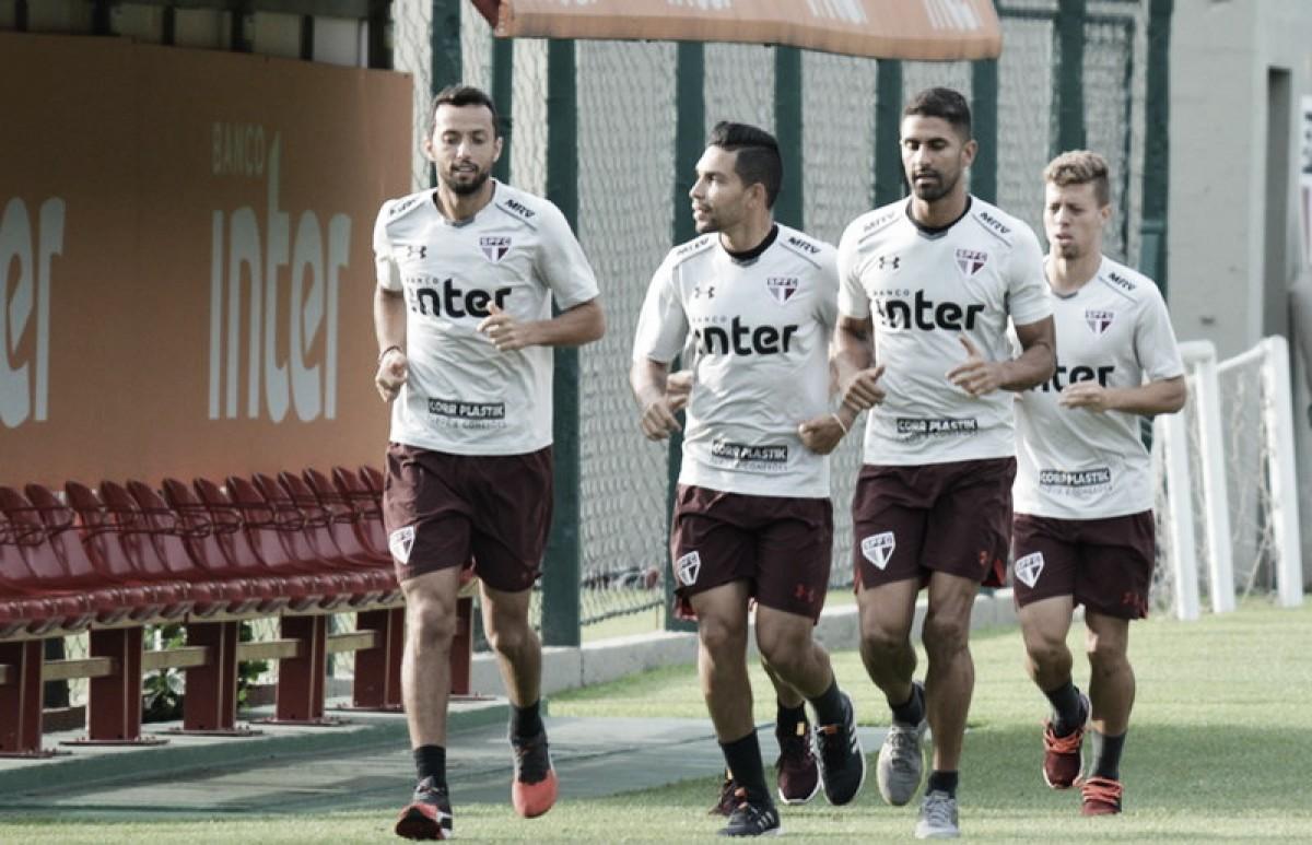 Com formação mista, São Paulo estreia no Brasileirão diante do ascendente Paraná Clube