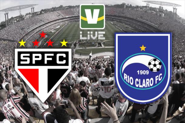 São Paulo x Rio Claro, Campeonato Paulista ao vivo online