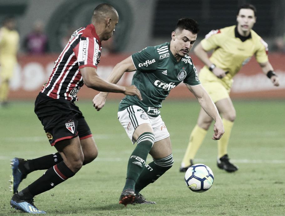 Em Choque-Rei valendo liderança do Brasileirão, São Paulo recebe Palmeiras no Morumbi