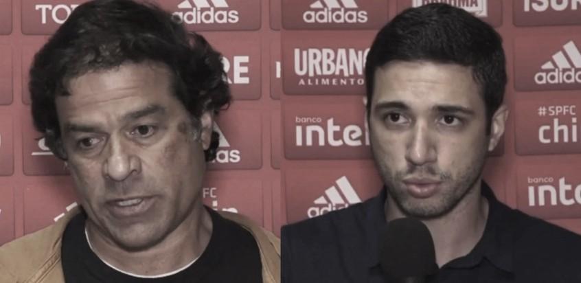 Raí e Alexandre Pássaro criticam São Paulo, mas garantem Fernando Diniz no cargo